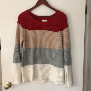 Lucky brand chunky knit sweater